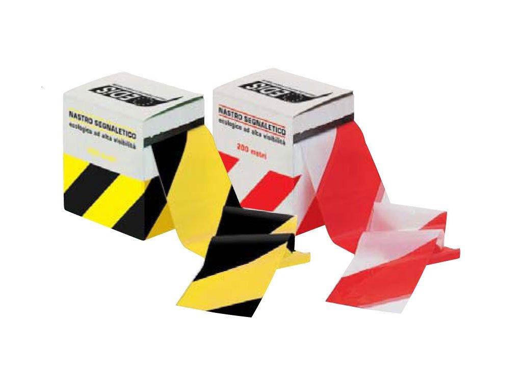 Výstražný pás - žlutá/černá