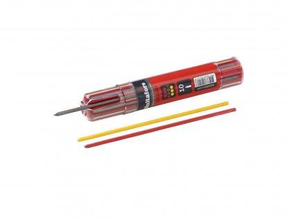 Náplň k mechanické tužce Dry Marker, grafit, červená, žlutá Hultafors