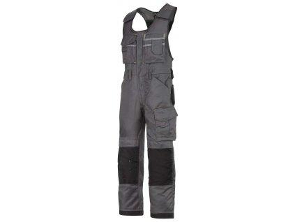 Kalhoty laclové DuraTwill šedé vel. 44 Snickers Workwear