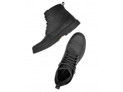 Bezpečnostní obuv F4 Chukka S3 černá