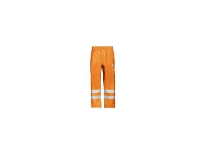 Kalhoty Snickers PU do deště, vysoká viditelnost tř.2  8243