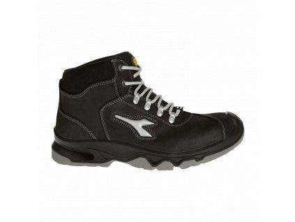 Pracovní obuv Diadora DIABLO WINTHERM MID BLACK S3 SRC CI