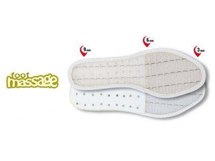 Stélka Cofra Foot Massage