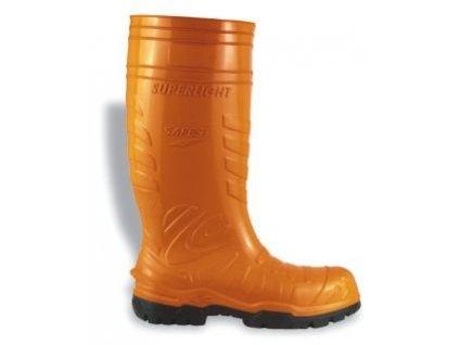 Holínky Cofra SAFEST orange S5 CI SRC