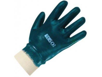 Pracovní rukavice EDIS TOP LINE nitrile ETL 13.01