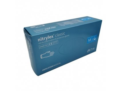 nitrilove rukavice nitrylex classic 200