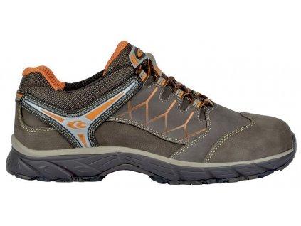Nízká pracovní obuv COFRA New RED EYE BROWN S3 SRC