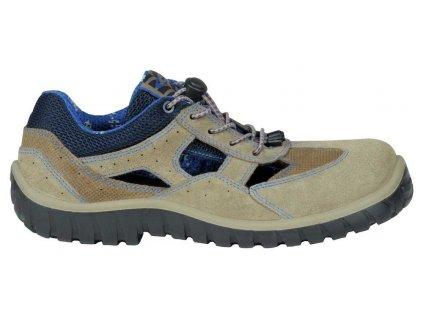 Pracovní obuv Cofra Paddock Beige S1P SRC