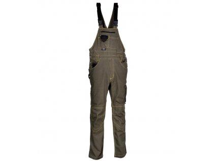Pracovní kalhoty s laclem COFRA STEEL 245g/m2