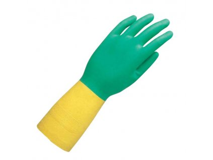Chemicky odolné rukavice Ansell Bi-Colour™ 87-900