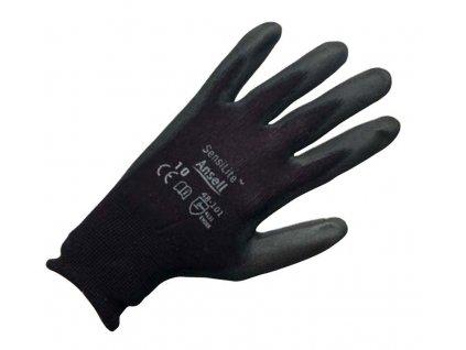 Pracovní rukavice  Ansell SensiLite® 48101 - černé