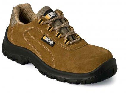 Nízká pracovní obuv EDIS MIKE se semišovým vrškem
