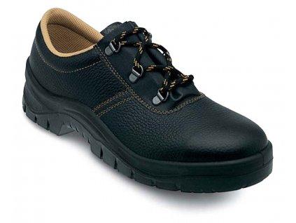 Nízká pracovní obuv EDIS - JUNIOR s barveným vrškem