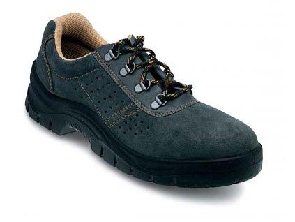 Nízká pracovní obuv EDIS SOFT se semišovým vrškem