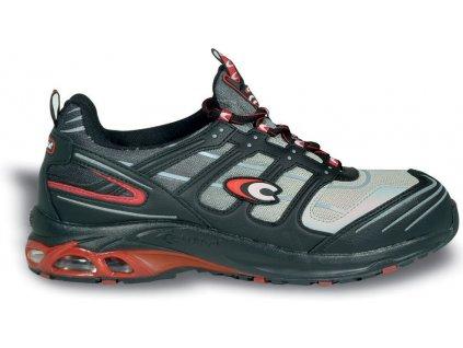 Nízká pracovní obuv - sportovní design - COFRA - ALIEN - svršek: mikrovlákno a prodyšná textilie S1P
