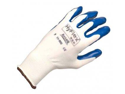 Pracovní rukavice Ansell HyFlex® NBR 11-900 - výborná obratnost a dobrý hmat v rukavicích odpuzujících olej