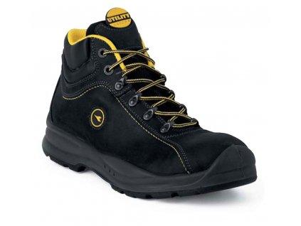 Kotníková pracovní obuv - sportovní design - DIADORA - FLOW  H - svršek: nubuk pull-up