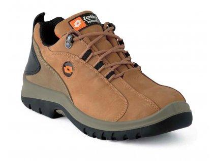 Kotníková pracovní obuv - sportovní design - LOTTO - LINK - svršek: Nubuck