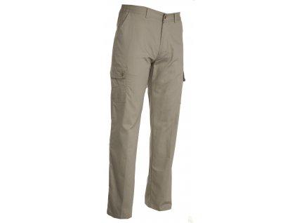 Pánské letní kalhoty s elastickým pasem FOREST SUMMER  210 GR / MQ