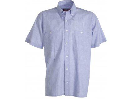 Pánská košile s krátkým rukávem CHAMBRAY