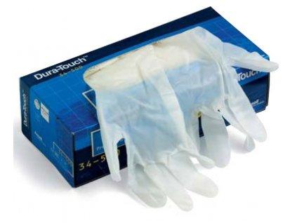 Ansell Dura-Touch® 34-500 - Obouruké jednorázové vinylové rukavice