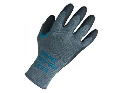 Univerzální pracovní rukavice Showa Grip 310 - černá - bezešvý polyester s dlaní povrstvenou protiskluzným latexem