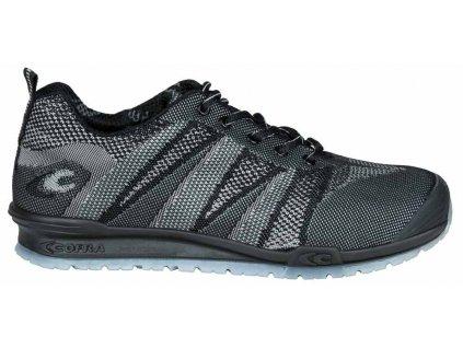 Pracovní obuv Cofra Fluent Black/Black S1 P SRC