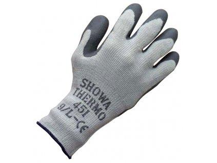 Povrstvené pracovní rukavice Showa Thermo 451