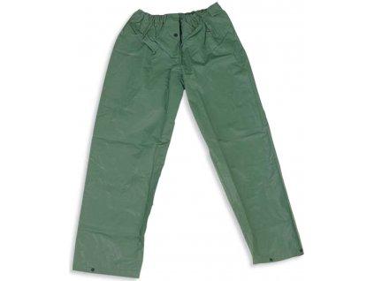 Zelené nepromokavé kalhoty LINEA