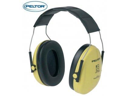 Ochranná sluchátka PELTOR - ochranná sluchátka OPTIME 1 H510A úchytový oblouk přes temeno