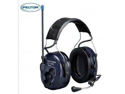 Ochranná sluchátka proti hluku PELTOR LITECOM BASIC MT53H7A4400 SOUPRAVA - ochranná sluchátka vybavená interním komunikačním systémem