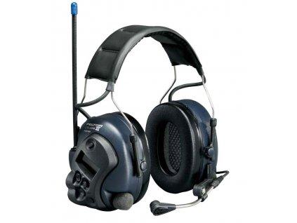 Ochranná sluchátka proti hluku PELTOR LITECOM III MT53H7A440B SOUPRAVA - integrovaná funkce závislá na úrovni hluku, která umožňuje slyšet zvuky přicházející z okolního prostředí