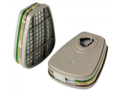 FILTR 3M ABEK1 6059 - filtr pro organické a anorganické výpary, plyny, kyseliny, čpavek a deriváty