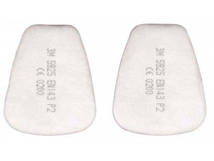 FILTR 3M P2 5925 - filtr pro prachy pro masky série 6000