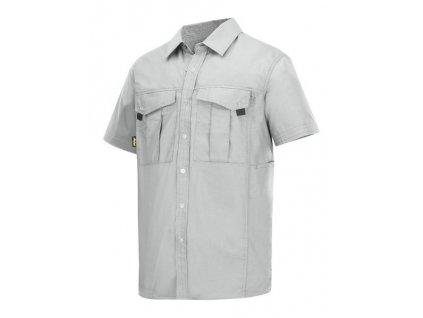 Košile Rip-Stop Snickers s krátkým rukávem  8506