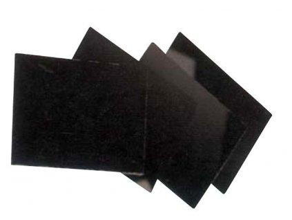 Pokovené zabarvené sklo DIN 11 pro svařovací štít