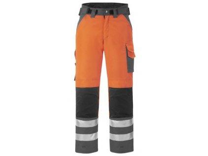 Reflexní pracovní zimní kalhoty Snickers vysoká viditelnost, třída 2  3639