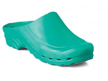 Pracovní sandály EDIS OP - CLOG - nazouvák se zvýšenou absorpcí energie v oblasti paty, proti únavě nohou.