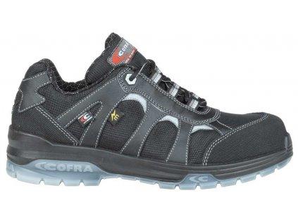 Nízká pracovní obuv COFRA FRANKLIN black SB E P FO SRC