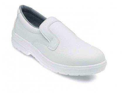 Nízká pracovní obuv EDIS - BIANCA z mikrovlákna - bílá