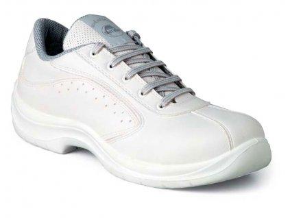 Nízká pracovní obuv EDIS ODESSA - bílá