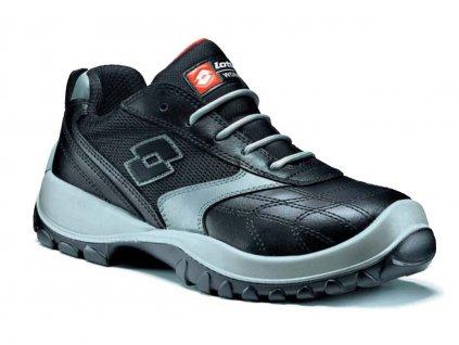 Nízká pracovní obuv - sportovní design - LOTTO - SOCCER - svršek: lícová kůže