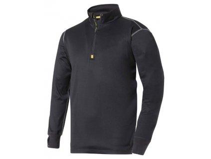 Pracovní mikro-fleece termo-pulovr se zipem SNICKERS 9413