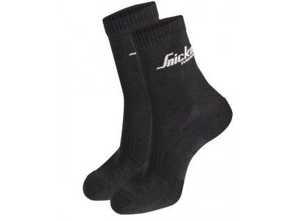Pracovní ponožky - dvoubalení SNICKERS 9204