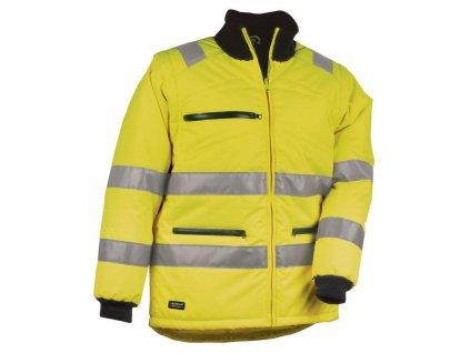 Reflexní zimní bunda COFRA NEON 150 g/m2