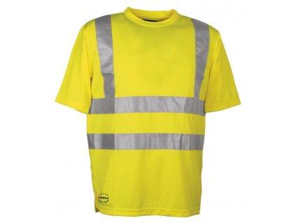 Reflexní pracovní tričko COFRA DANGER 140 g/m2