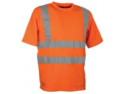 Reflexní pracovní tričko COFRA ALERT 185 g/m2