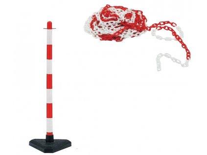 Plastový řetěz - průměr 6 mm