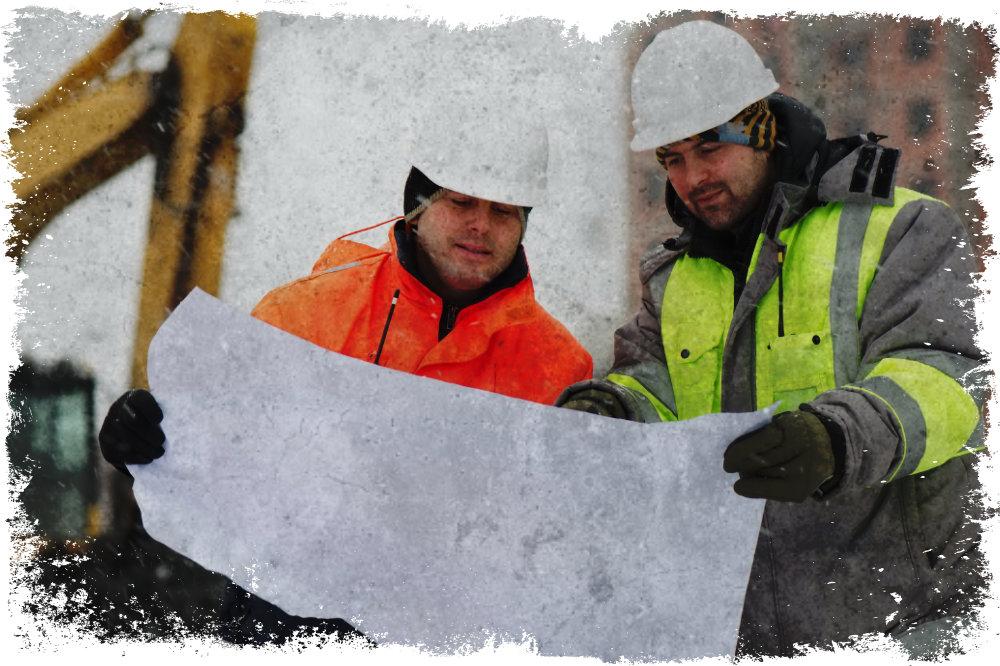 Zimné pracovné bundy