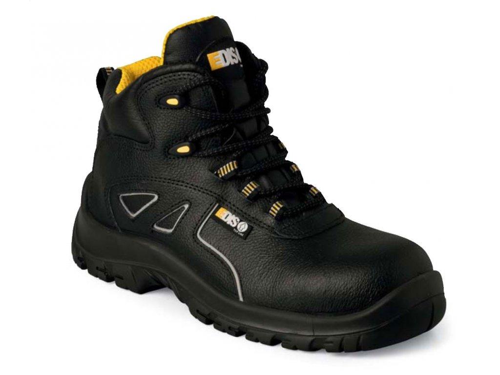 Nízka pracovná obuv EDIS - LARRY ALTE z byvolej kože (Veľkosť topánky 44)